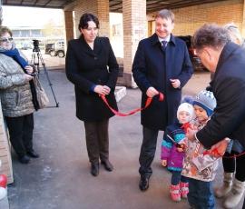 Открытие МРП, на ул. Мраморной
